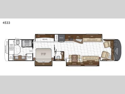 Floorplan - 2017 Newmar London Aire 4533