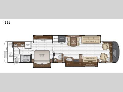 Floorplan - 2017 Newmar Mountain Aire 4533