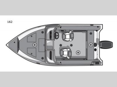 Floorplan - 2017 Smoker Craft Pro Angler 162
