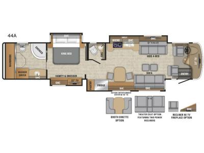 Floorplan - 2017 Entegra Coach Anthem 44A
