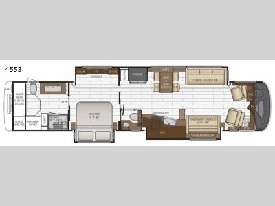 Floorplan - 2017 Newmar King Aire 4553