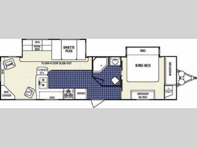 Floorplan - 2008 Dutchmen RV Classic 31L-DSL-BS