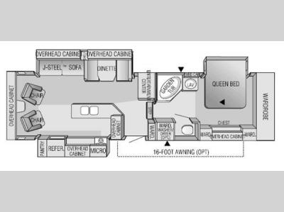 used 2001 jayco designer 32 rlts fifth wheel at general rv | wixom