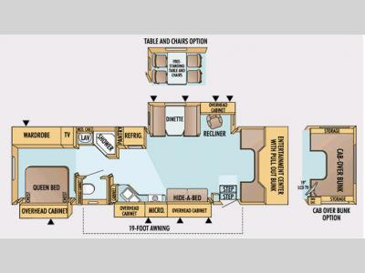 Floorplan - 2008 Jayco Seneca HD 35 GS