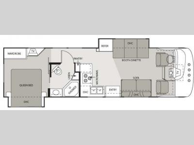 Floorplan - 2008 Four Winds RV Hurricane 31H