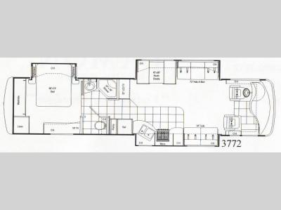 Floorplan - 2008 Damon Astoria Pacific Edition 3772