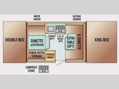 Floorplan - 2008 Jayco Jay Series 1007