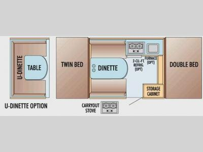 Floorplan - 2009 Jayco Jay Series 806