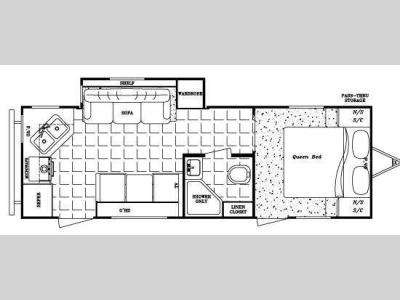 Floorplan - 2009 Gulf Stream RV Kingsport 250 RKS