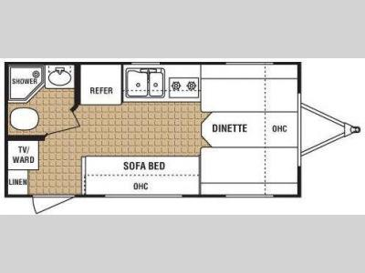Floorplan - 2009 Dutchmen RV ECO 718FD