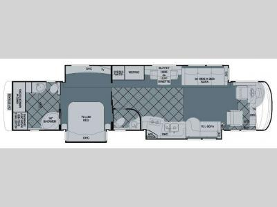 Floorplan - 2009 Newmar Essex 4516