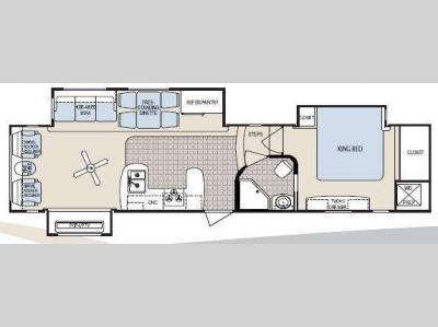 Floorplan - 2010 Dutchmen RV Grand Junction 37TRL