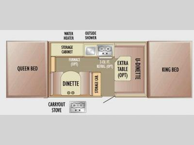 Floorplan - 2010 Jayco Jay Series 1207