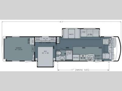 Floorplan - 2010 Newmar Canyon Star 3920