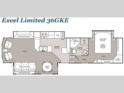 Floorplan - 2010 Peterson Excel Limited 36GKE