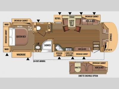 Floorplan - 2010 Jayco Embark QX390