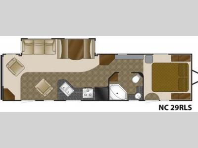 Floorplan - 2011 Heartland North Country 29RLS