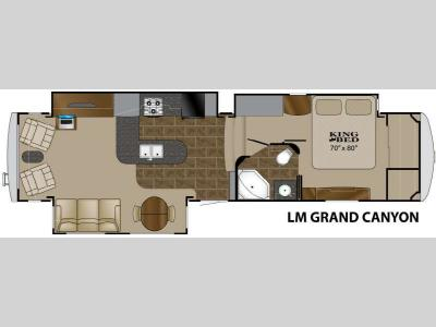 Floorplan - 2011 Heartland Landmark Grand Canyon