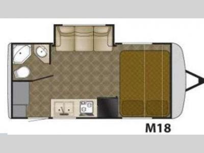 Floorplan - 2011 Heartland Edge M18