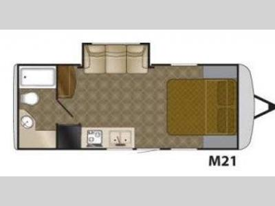 Floorplan - 2011 Heartland Edge M21