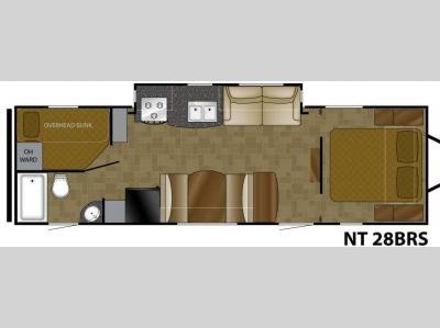 Floorplan - 2011 Heartland North Trail 28BRS