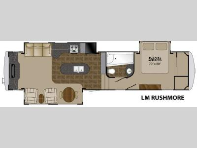 Floorplan - 2011 Heartland Landmark Rushmore
