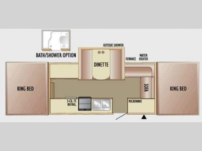 Floorplan - 2010 Jayco Select 141J