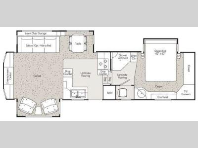 Floorplan - 2011 Peterson Excel Limited 30RSO