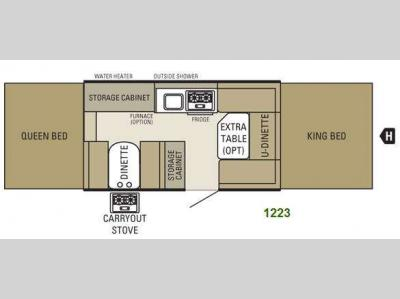 Floorplan - 2011 Starcraft  1223