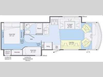 Floorplan - 2011 Winnebago Vista 32K