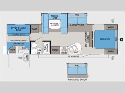 Floorplan - 2011 Jayco Eagle Super Lite 304BHK