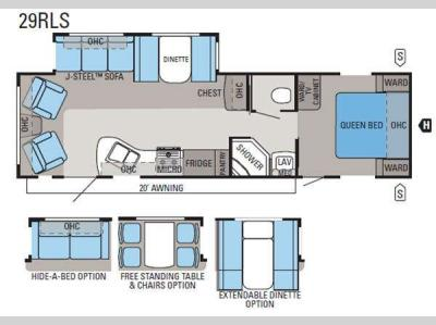 Used 2011 jayco jay flight g2 29rls travel trailer at for Table 6 north canton oh