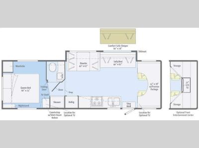 Floorplan - 2011 Winnebago Access 31CP