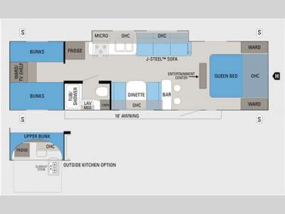Floorplan - 2011 Jayco Jay Feather Select 29L