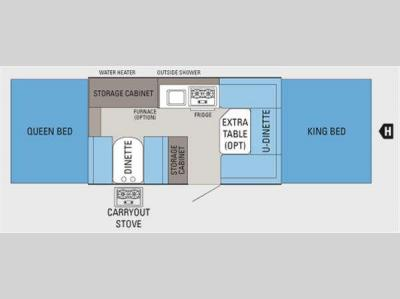 Floorplan - 2011 Jayco Jay Series 1207