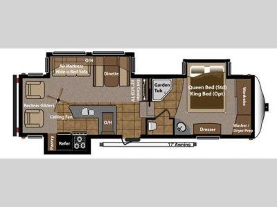 Floorplan - 2012 Keystone RV Mountaineer 290RLT