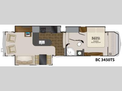 Floorplan - 2012 Heartland Big Country 3450 TS