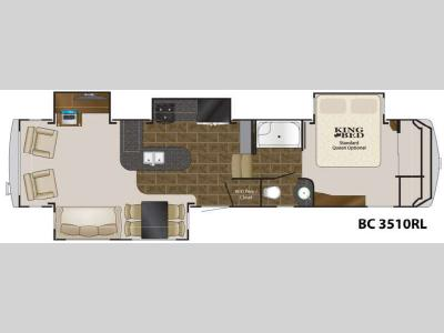 Floorplan - 2012 Heartland Big Country 3510 RL