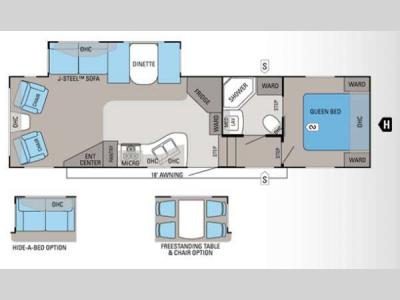 Floorplan - 2012 Jayco Eagle Super Lite 30.5RLS
