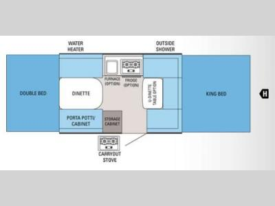 Floorplan - 2012 Jayco Jay Series 1007