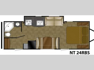 Floorplan - 2012 Heartland North Trail 24RBS