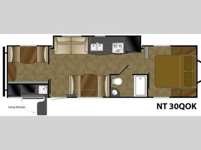 Floorplan - 2012 Heartland North Trail 30QOK