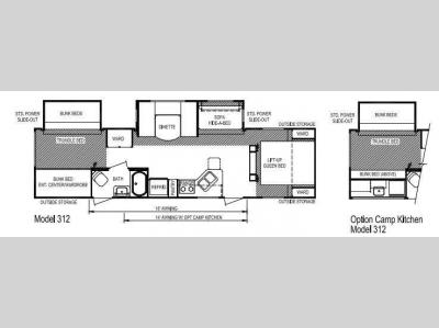 Floorplan - 2012 Skyline Nomad Joey Select 312