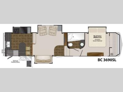 Floorplan - 2012 Heartland Big Country 3690 SL