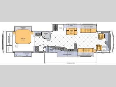 Floorplan - 2012 Newmar Dutch Star 4324
