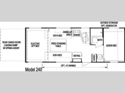 Floorplan - 2006 Skyline Rampage 240