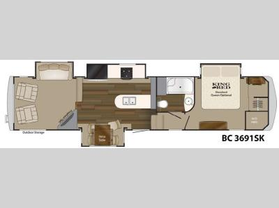 Floorplan - 2013 Heartland Big Country 3691 SK