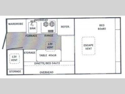 Floorplan - 2012 Riverside RV White Water 800