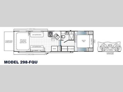 Floorplan - 2013 Palomino Puma Unleashed 298-FQU