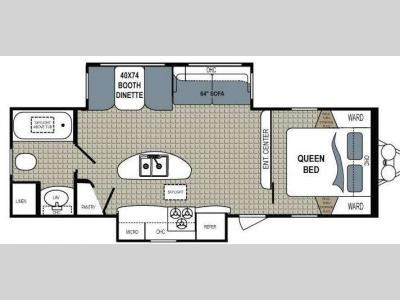 Floorplan - 2013 Dutchmen RV Kodiak 279RBSL
